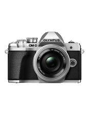 Olympus OM-D E-M10 Mark III 16.1 MP Digital Camera - Silver (Kit with 14-42mm f/3.5-5.6 EZ Lens)