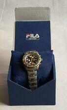 Boxed Fila Chronograph 100m Quartz Mens Watch 391 - 6