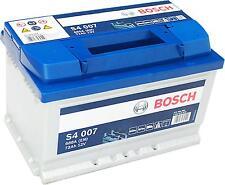 Autobatterie Bosch Silver S4 007 12V 72Ah B-C inkl. 7,50€ Batteriepfand