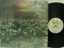 ARMAGEDDON - S/T (1st US MONARCH Pressing on A&M, M1 Matrix, Keith Relf, Shrink)