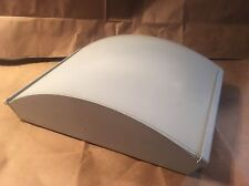 Zaneen TRILLIUM 3008 Wall/Ceiling Flush Mount Light in Sanded Aluminum ITALY