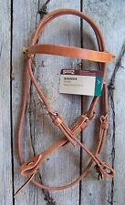 Headstall - Tie Cheek Harness Leather (Cob Size) by Schutz Brothers
