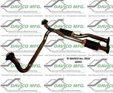 Catalytic Converter-Exact-Fit Front Davico Exc CA 16541