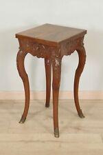 Table de salon formant selette style Régence noyer 1900