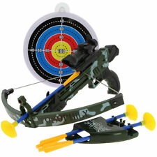 Unisex Sucker Darts Crossbow & Target Combo Gun Set Archery Outdoor Game