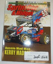 SprintCar & Midget Magazine Kerry Madsen August 2008 020915R