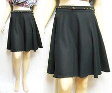 $1,295 GUCCI 44 Club Wear to Work A-Line Skirt WOOL Dress Belt Women Lady Gift B