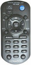 KENWOOD KDC-X395 KDCX395 GENUINE RC-405 REMOTE *PAY TODAY SHIPS TODAY*