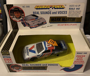 1992 Mark Martin #6 Valvoline Road Champs 1/43 Die Cast Sounds of Power NASCAR