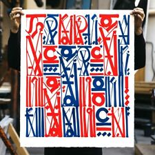 """RETNA """"Sacred Dance of Memories"""" Lithograph Print Signed /Numbered Edition of 99"""