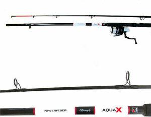 DAM AQUA X PILK Boat Meeresrute 240 cm 100/200 Wg  mit Rolle und Schnur