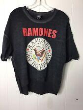 Bravado T Shirt Ramones Women's Size Medium Short In Front