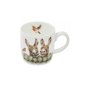 Wrendale Designs Mug Hee Haw Donkey 310ml Fine Bone China Dishwasher Safe