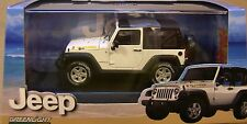 GREENLIGHT COLLECTIBLES 1:43 SCALE DIECAST METAL WHITE 2010 JEEP ISLANDER