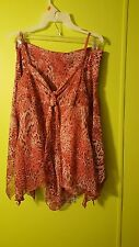 My Michelle 2 pc.Tank Top Sz. M~ Skirt  Sz 7 Lined Fashionable Pink~Brown