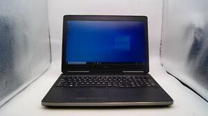 """Dell Precision 7520 I7-6820HQ 16GB RAM 512 SSD Windows 10 Pro 15.6"""" Laptop"""