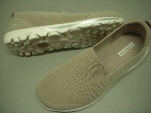 Skechers Daydream GOWalk Classic Knit Slip-On Sneakers Women's 8.5 M Taupe 8.5M