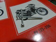 319113 n°2 pz VITE FANALE POSTERIORE GILERA GSA 50 RV 125 200 KZ KK 3,5x50mm