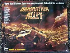 Damnation Alley 1977 Post Apocalypse Sci Fi Orig Video Unused EX Poster 22 x 28