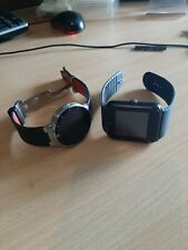 Broken/parts only Alcatel Onetouch SM-02 and generic Android Smartwatch bundle.