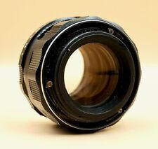 Vintage Pentax Takumar 55mm F2 Prime Lens for M42 fit