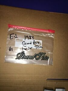 1985 Pontiac Grand Prix Fender Emblem