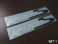 BMW K1300S K 1300 S side fairing decals stickers graphics logo set kit