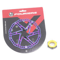 Fouriers Bike Disc Brack Rotor Ti coating Center Lock Centerlock For SHIMANO