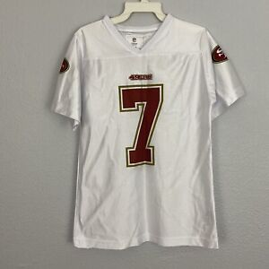NFL Team Apparel Colin Kaepernick Girls Jersey Size Medium (10-12)
