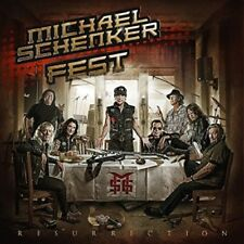 MICHAEL SCHENKER FEST - RESURRECTION LIMTED BLACK  2 VINYL LP NEUF