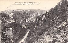 SAINT-LEONARD-DES-BOIS buttes du champ des pas et de haut-fourché timbrée 1933