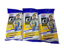 Donruss Panini Racing Carolina Parallels Value Cards Pack - 2021