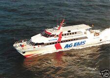 """Ak, primer alemán High-tech-catamarán MS """"del norte de luz"""", para 1990"""