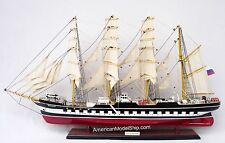 "KRUZENSHTERN ( KRUSENSTERN ) Tall Ship Model 36"" - Handcrafted Wooden Ship Model"