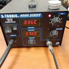 X Tronic 4000 Series Solder Station Smdsmt Hot Air Rework Station