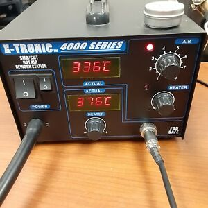 X-Tronic 4000 Series Solder Station-SMD/SMT Hot Air Rework Station