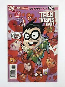 Teen Titans Go! #39 (Cartoon Network) (2007 DC Comics) Low Print VF-