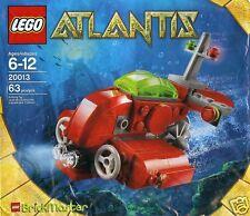 LEGO Brickmaster Atlantis 20013 Neptun U-Boot 63 tlg Exclusives Sammlerstück