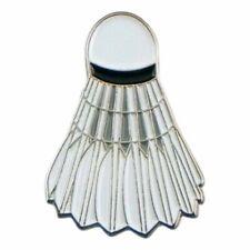 Badminton Shuttlecock Metal Enamel Pin Badge