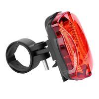 VTT vélo vélo vélo feux arrière lampe 5 LED feux arrière accessoires