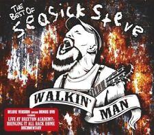 Seasick Steve - The Very Best Of: WALKIN' Man (CD+DVD) NUEVO CD