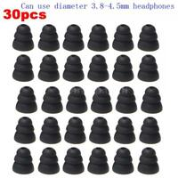 15 Pairs In-Ear Earplug Silicone Triple Flange Earbuds Ear Tips Replacement M5U3