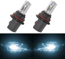 LED 30W 9007 HB5 White 6000K Two Bulbs Head Light Replacement Off Road Lamp