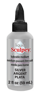 Liquid Sculpey -- Silver, 2 fl oz  (59 ml)