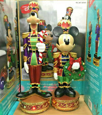 More details for disney christmas mickey and goofy nutcracker musical led light up decorations