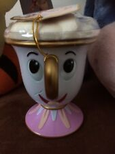 Disney Chip Cup Bath Fizzed Mug Beauty And The Beast Kids Boots Plastic BNWT