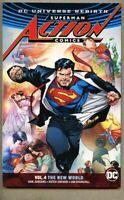 GN/TPB Superman Action Comics Volume 4 Four 2017 nm 9.4 DC 1st 196 pgs Rebirth