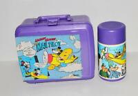 MICKEY MOUSE THE MAIL PILOT Lunch Box & Thermos Bottle Aladdin