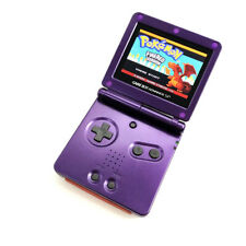 Purple Nintendo Game Boy Advance SP Console AGS-101 Highlight LCD GBA SP SYSTEM
