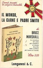 IL MONDO LA CARNE E PADRE SMITH - BRUCE MARSHALL    ED. POCKET LONGANESI 1965